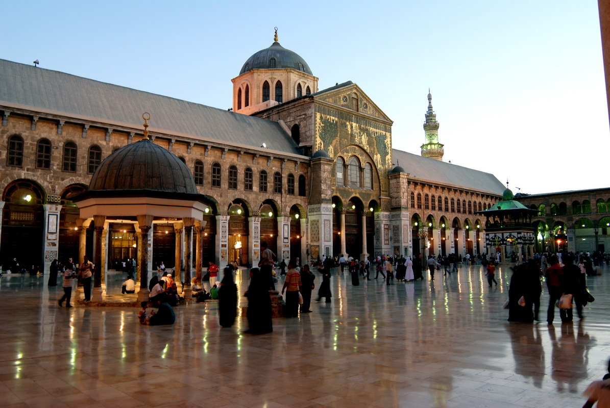 Image result for Umayyad mosque