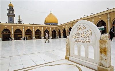 Fichier:مقام رسول خدا در مسجد کوفه.jpg