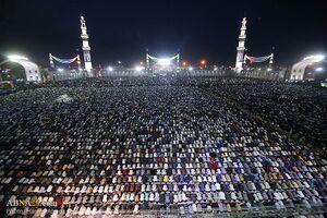 Eve of Mid-Sha'ban, 2107 at Jamkaran Mosque, Qom.jpg