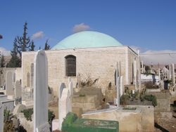 Abd al-Malki b. Marwan tomb in Damascus.jpg