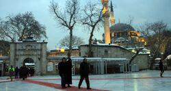 مسجد أيوب سلطان في إسطنبول