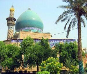 مرقد السفير الثاني في بغداد