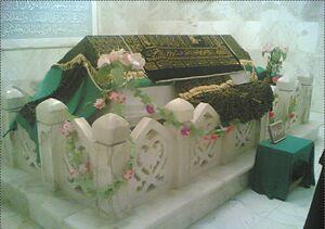 Description de l'image قبر زبیر در عراق.jpg.