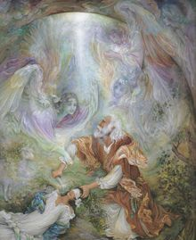 ذبح اسماعیل کی نقاشی، اثر فرشچیان