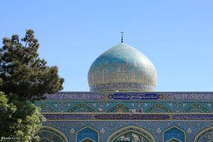مقبرة أبي صلت على بعد 10 كيلومترات من مدينة مشهد