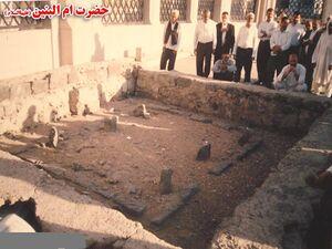 مدفن أم البنين في مقبرة البقيع