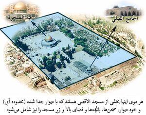 Masjid al-Aqsa and Masjid al-Sakhra