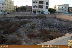The place where al-Shams Mosque was built