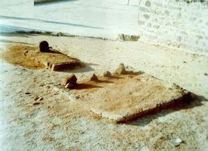 مرقد امام حسن مجتبیؑ در قبرستان بقیع