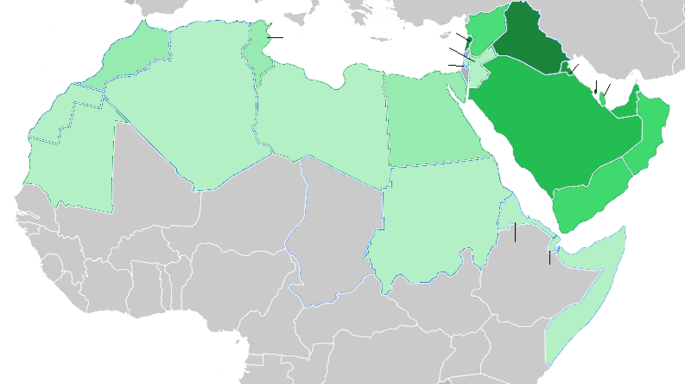 Template:Map of Arab World/doc - WikiShia on world map in oman, world map in kuwait, world map in bahrain,
